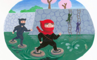 Ninja Litte Red Riding Hood