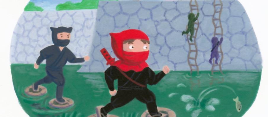Ninja Litte Red Riding Hood