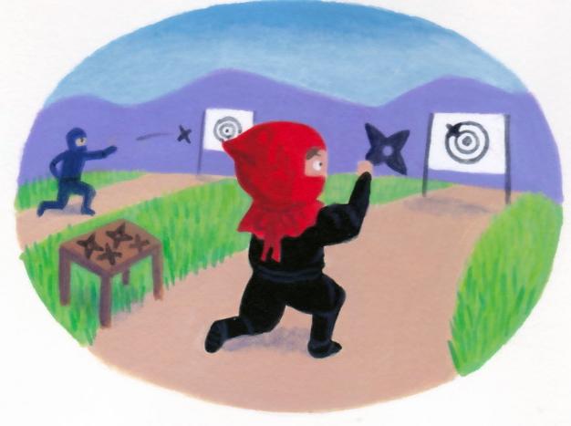 Ninja litte Red Riding Hood 2